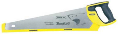 """Stanley Hand Tools 20-527 20"""" Sharp Tooth Hand Saw"""