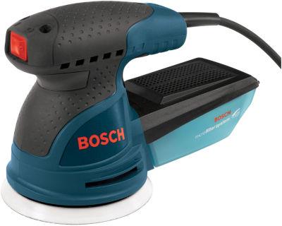 Bosch ROS20VSK 5IN Variable Speed Palm-Grip RandomOrbit Sander Kit