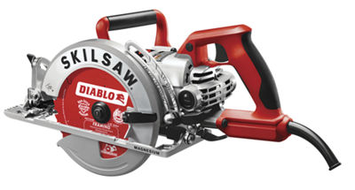 "Skilsaw SPT77WML-22 7-1/4"" Lightweight Worm Drive With Diablo Carbide Blade"