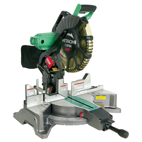 "Hitachi C12FDH 12"" Dual Compound Miter Saw With Laser Marker"""