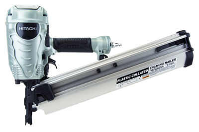 "Hitachi NR90AES1 3-1/2"" Plastic Collated Framing Nailer"