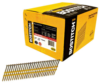 Bostitch Stanley RH-S8D113HDG 2-3/8IN Smooth Shank21¡ Stick Framing Nails 5000 Count