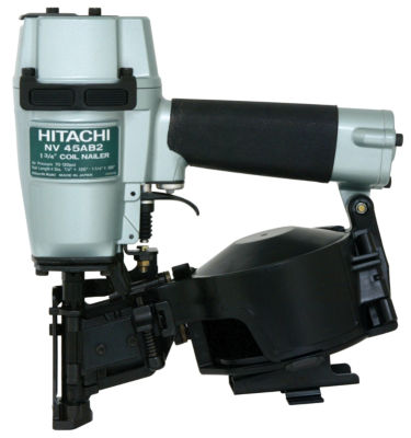 "Hitachi NV45AB2 1-3/4"" Coil & Roofing Nailer"