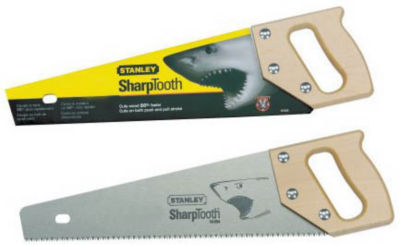 Stanley Hand Tools 15-335 20IN 9 TPI Sharp Tooth Hand Saw