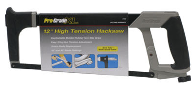 "Pro Grade 31912 12"" High Tension Hacksaw"""