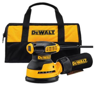 "DeWalt DWE6421K 5"" Random Orbit Sander With Carry Bag"