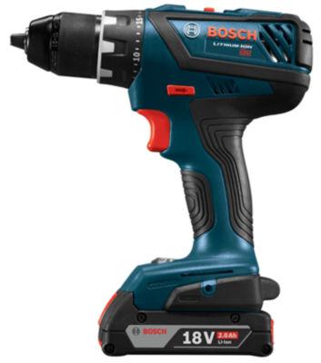 Bosch DDS181A-02 18 Volt 1/2IN Compact Toughª Cordless Drill & Driver