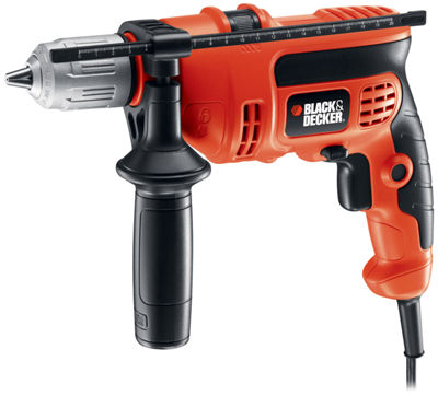 "Black & Decker Power Tools DR670 6.5 Amp 1/2"" Corded VSR Hammer Drill"