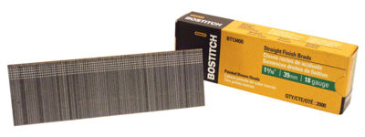 "Bostitch Stanley BT1340B 1-9/16"" Brad Nails 2;000Count"""