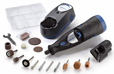 Dremel 7700-1/15 7.2 Volt Multipro Cordless RotaryKit With 15 Accessories