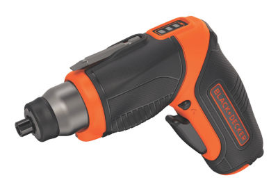 Black & Decker Power Tools BDCS40BI 4 Volt Rechargeable Cordless Screwdriver