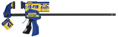 "Irwin Quick Grip 524Qcn 24"" One Handed Bar Clamp/Spreader"