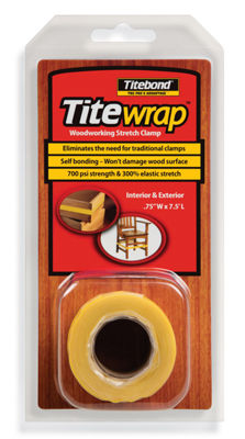 Titebond 16310 7.5' Titewrap Reusable Silicone Clamp Tape