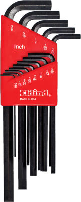 Eklind 10213 Long Series Hex-L Key Set 13 Count