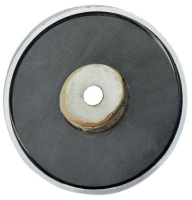 "General 376C 2-5/8"" Shallow Pot Ceramic Magnets"