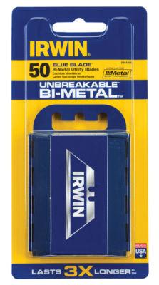 Irwin 2084300 Bi-Metal Blue Blades 50 Count