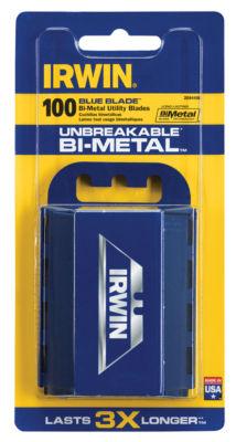 Irwin 2084400 100 Count Bi-Metal Blue Bladesª