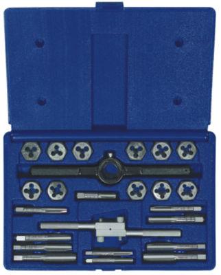 Irwin 24614 Steel Fractional Tap & Hex Die Set 24 Count