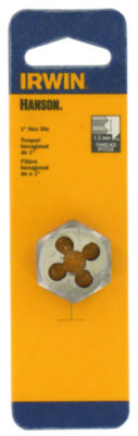 "Irwin Hanson 9740 1"" 10 MM-1.5 Hexagon Metric Die"
