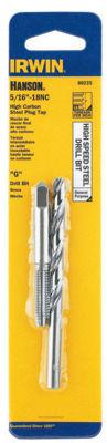Irwin Hanson 80235 #G 5/16-18Nc High Speed Steel Drill Bit & Tap