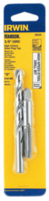 Irwin Hanson 80238 #O 3/8-16Nc High Speed Steel Drill Bit & Tap