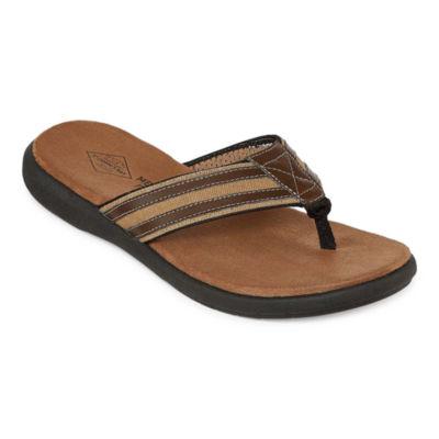 St. John's Bay Mens Margin Flip-Flops
