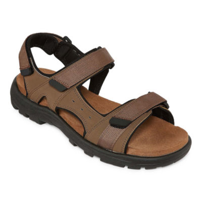 St. John's Bay Leo Mens Strap Sandals