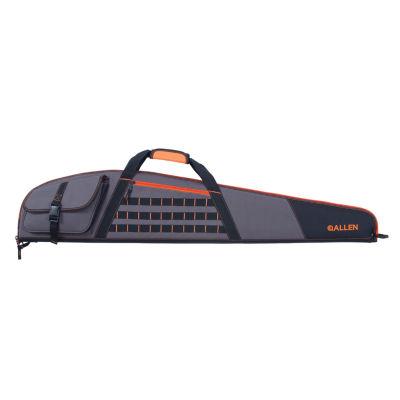 "Allen Cases Delta Scoped Riflecase - (48"") Gray With Orange Accents"