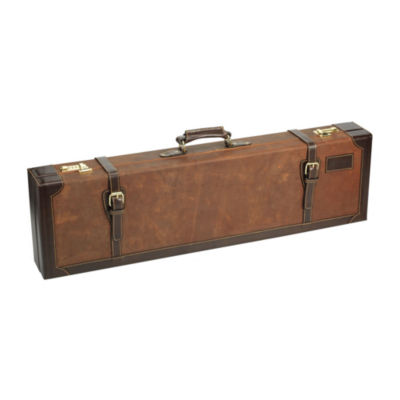 Browning John M. Browning Crazy Horse Fitted Gun Case - Leather Brown