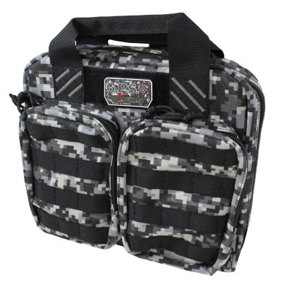 G Outdoors Tactical Double And 2 Pistol Case