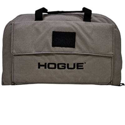 Hogue Hg Pistol Bag With Front Pocket Large; FlatDark Earth