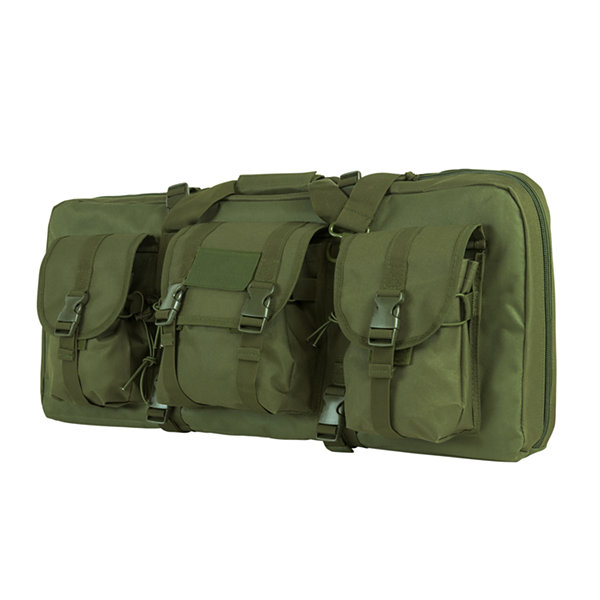 Ncstar Ar15 And Ak Deluxe Carbine Pistol Case, Green