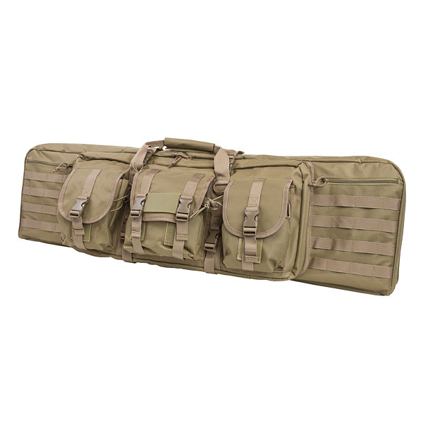 "Ncstar Double Carbine Case 42"" Tan"