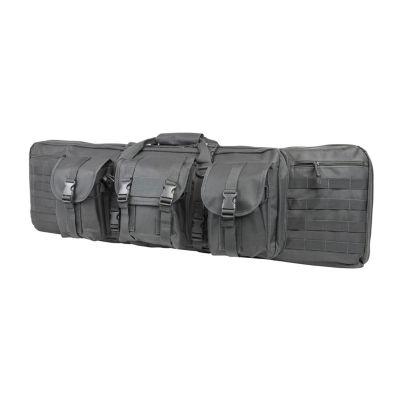 """Ncstar Double Carbine Case 42""""; Urban Gray"""""""