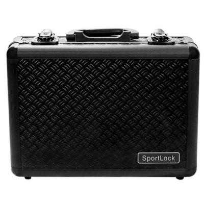 Sportlock Alumalock Double Handgun Case Black