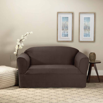 Bayview 1 Piece Loveseat Wrap Style Slipcover