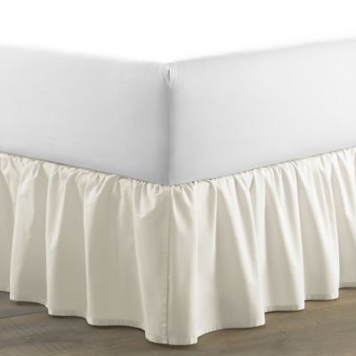 Laura Ashley Solid Bedskirt Ruffled