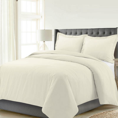 Celeste Home Solid Cotton Flannel 190GSM Duvet Set
