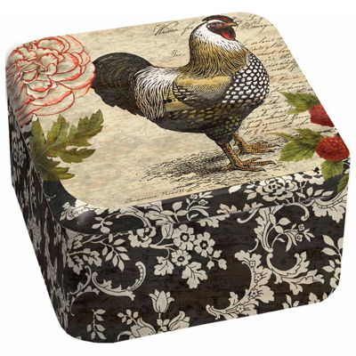 LANG French Rooster 13.5 Oz Tin Candle