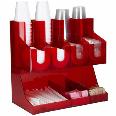 Mind Reader Jumbo Condiment Organizer