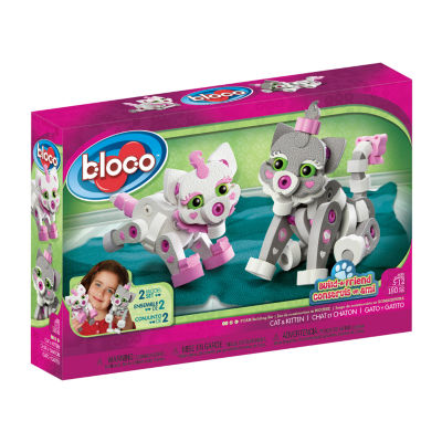 Bloco: Build-a-friend Cat and Kitten