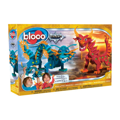 Bloco: Aqua & Pyro Dragons