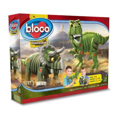 Bloco: T-Rex & Triceratops