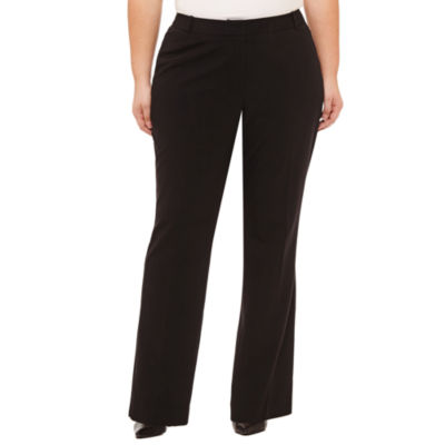 Worthington Curvy Fit Trousers - Plus