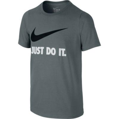 Nike Short Sleeve Crew Neck T-Shirt - Big Kid Boys 7-20