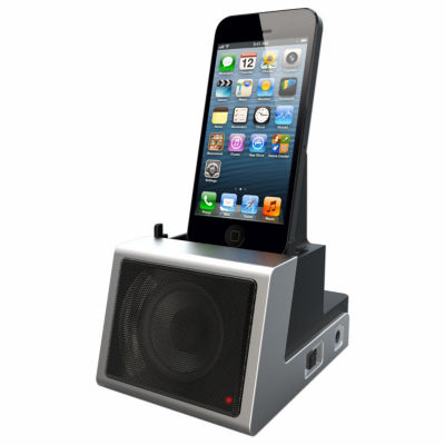 DOK Speaker Cradle with Rechargeable Battery
