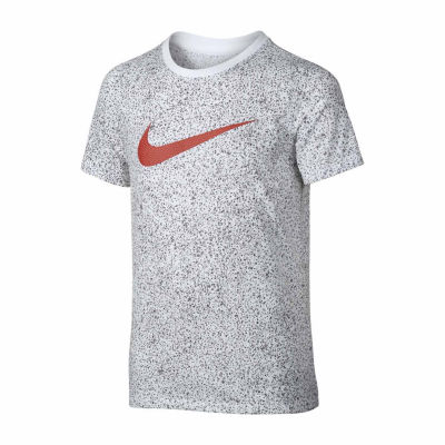 Nike Short Sleeve Crew Neck T-Shirt-Big Kid Boys, S-XL