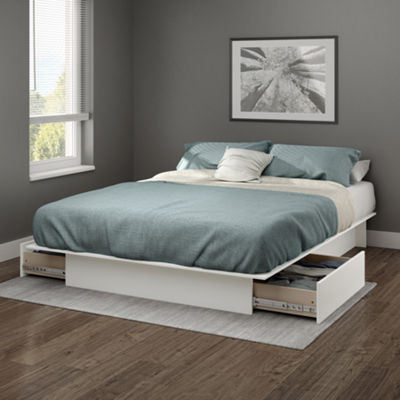 Gramercy Platform Bed with Drawers