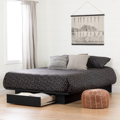Holland Platform Bed with Drawer