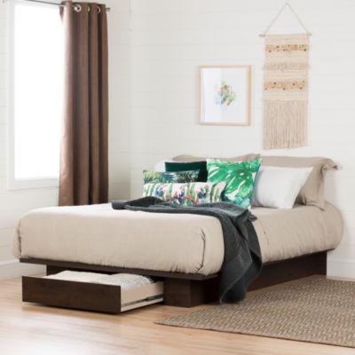 Holland Platform Bed with Drawer
